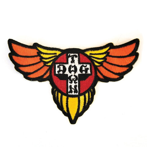 DOGTOWN EMBROIDERED WINGS PATCH
