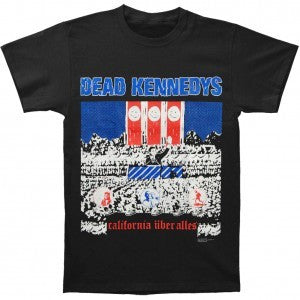 DEAD KENNEDYS CALIFORNIA UBER ALLES T-SHIRT BLACK - Skateboards Amsterdam