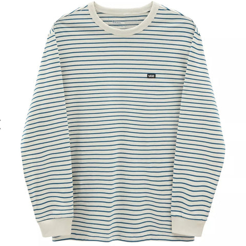 VANS CORE LONG SLEEVE SEED PEARL-MOROCCAN BLUE