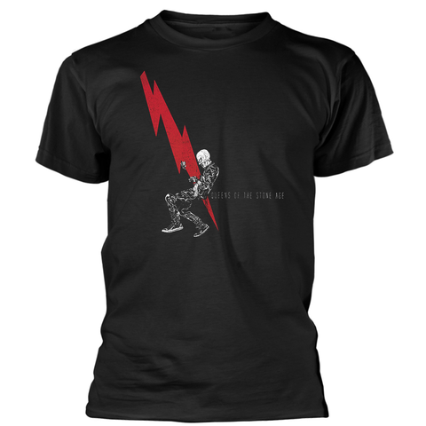 QUEENS OF THE STONE AGE T-SHIRT LIGHTNING DUDE
