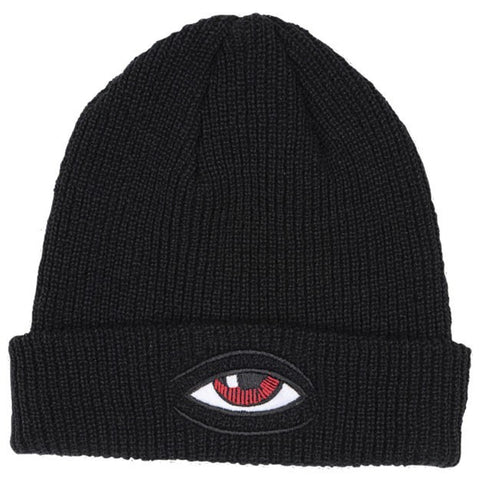 TOY MACHINE SECT EYE DOCK BEANIE BLACK - Skateboards Amsterdam