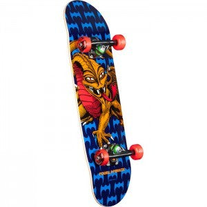 POWELL PERALTA CAB DRAGON ONE OFF COMPLETE BLUE/RED 7.5