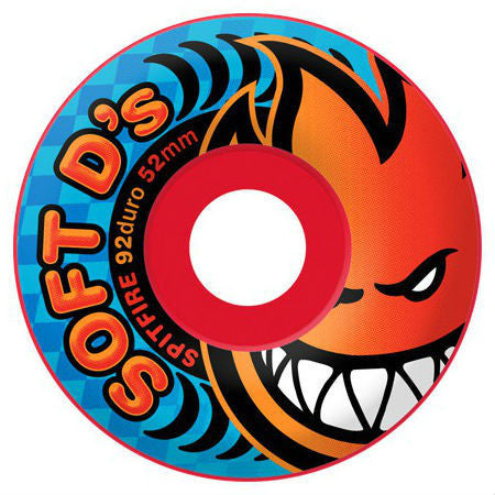 SPITFIRE BIGHEAD ROCKET 54MM - Skateboards Amsterdam - 1