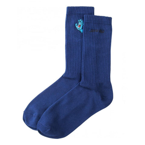 SANTA CRUZ SCREAMING MINI HAND SOCK DARK NAVY