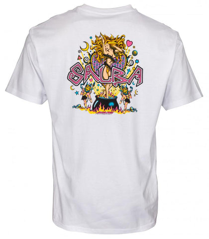 SANTA CRUZ SALBA WITCH DOCTOR T-SHIRT WHITE