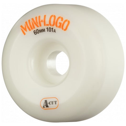 MINI LOGO A-CUT WHEELS 101A WHITE 60MM