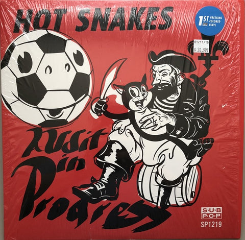 Hot Snakes-Audit In Progress -Coloured-