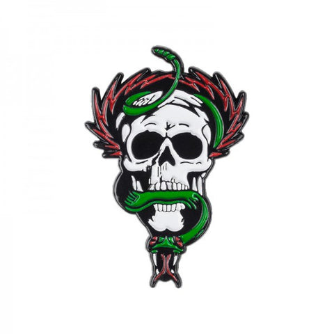 POWELL PERALTA MCGILL SKULL & SNAKE LAPEL PIN