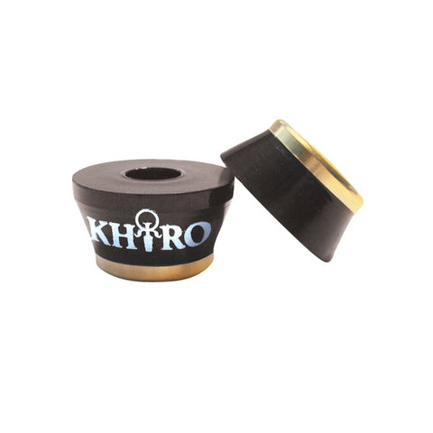 KHIRO GOLD INSERT BUSHINGS 95A BLACK