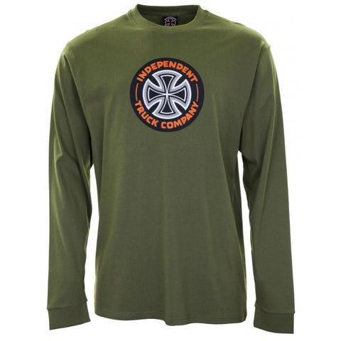 INDEPENDENT COMBO TC LONGSLEEVE MILITARY