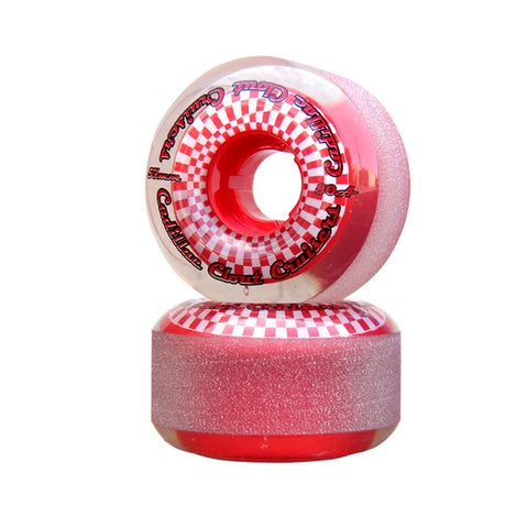 CADILLAC CLOUT CRUISER WHEELS RED 80A 57MM