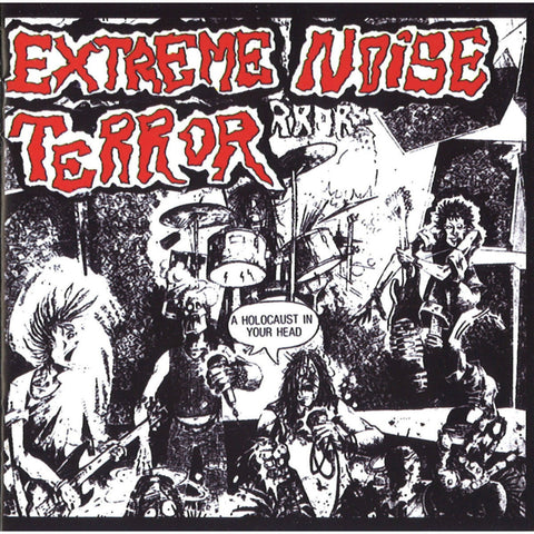Extreme Noise Terror-Holocaust In Your Head - Skateboards Amsterdam