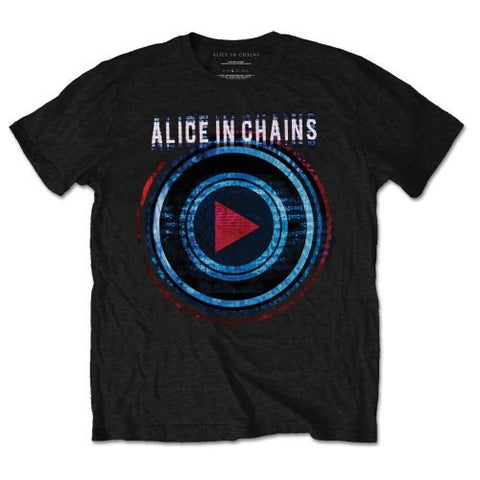 ALICE IN CHAINS PLAYED T-SHIRT BLACK