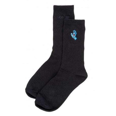 SANTA CRUZ SCREAMING MINI HAND SOCK BLACK