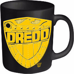 JUDGE DREDD DREDD BADGE MUG - Skateboards Amsterdam