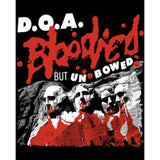 D.O.A.-BLOODIED BUT UNBOWED T-SHIRT BLACK - Skateboards Amsterdam - 2