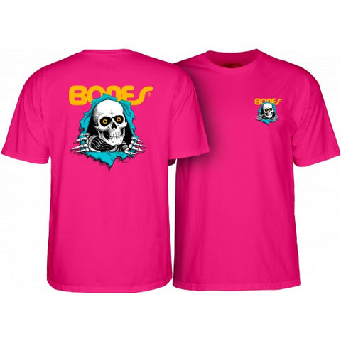 POWELL RIPPER T-SHIRT HOT PINK