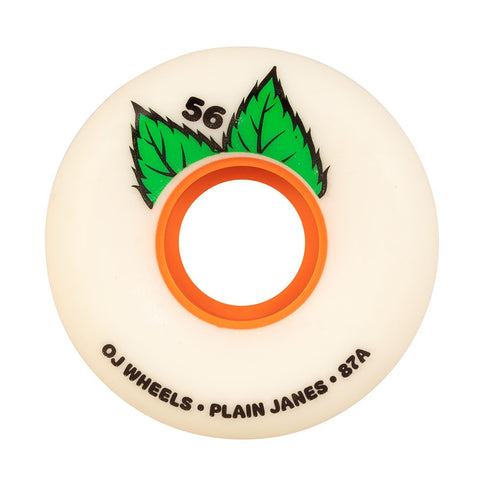 OJ PLAIN JANE KEYFRAME WHITE 87A 56MM