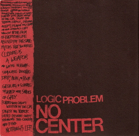 Logic Problem-No Center - Skateboards Amsterdam