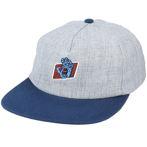 SANTA CRUZ WORK HAND CAP GREY/NAVY