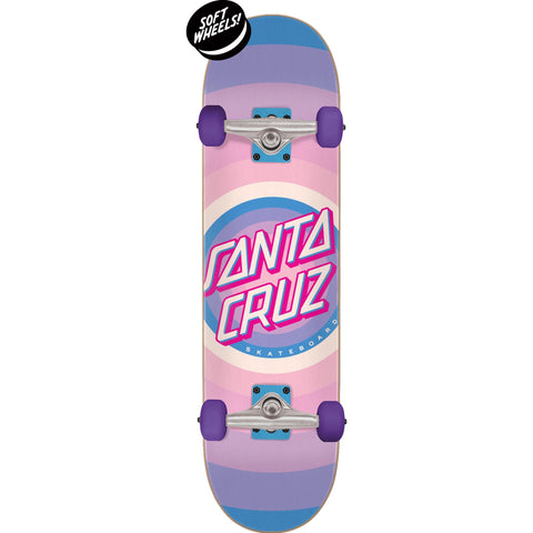 SANTA CRUZ GLEAM DOT COMPLETE PINK/PURPLE 7.75