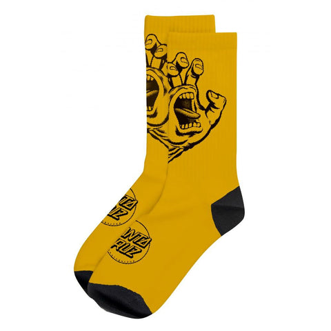 SANTA CRUZ SCREAMING MONO SOCK GOLD
