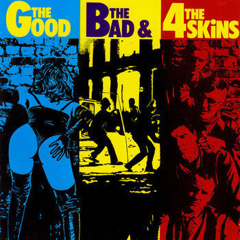 4 Skins-The Good, The Bad And The 4 Skins - Skateboards Amsterdam