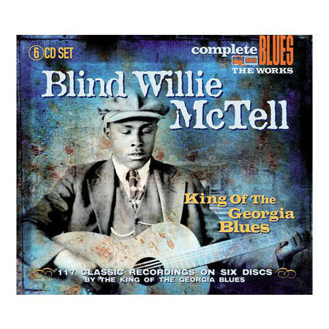 Blind Willie McTell-King Of The Georgia Blues 6 CD SET - Skateboards Amsterdam