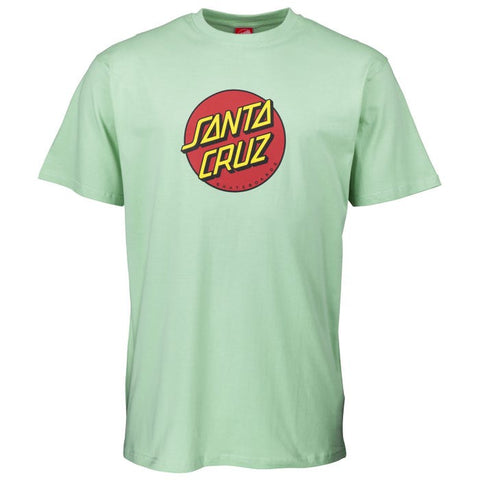 SANTA CRUZ CLASSIC DOT T-SHIRT MINT
