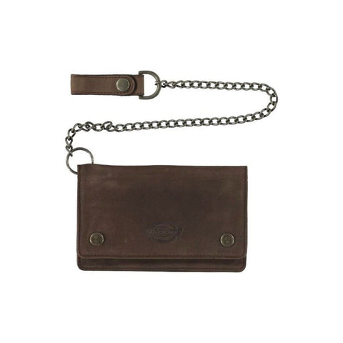 DICKIES DEEDSVILLE WALLET BROWN - Skateboards Amsterdam