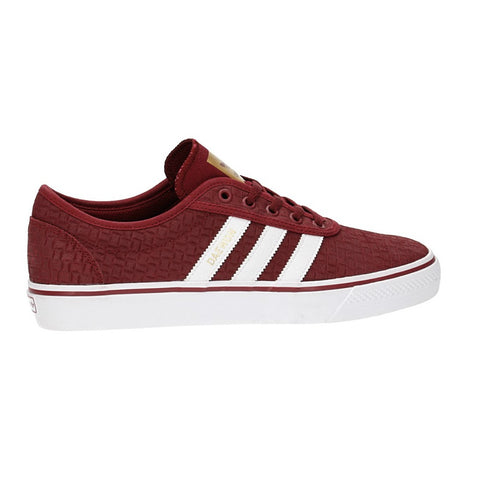 ADIDAS ADI-EASE BURGUNDY/WHITE/GOLD