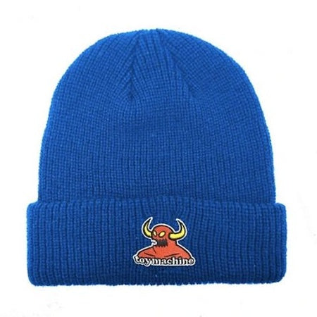 TOY MACHINE MONSTER BEANIE BLUE
