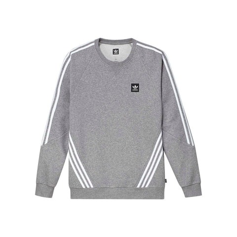 ADIDAS INSLEY CREWNECK HEATHER/WHITE