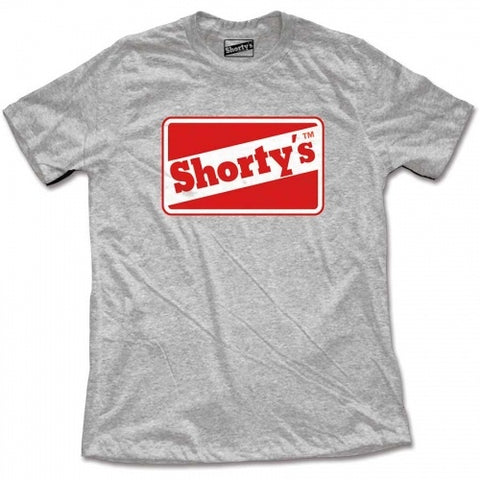 SHORTY´S ORIGINAL LOGO T-SHIRT ASH