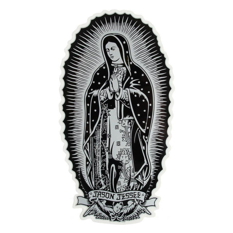 SANTA CRUZ GUADALUPE STICKER 6 INCH