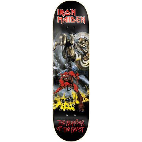 ZERO X IRON MAIDEN NUMBER OF THE BEAST 8.0