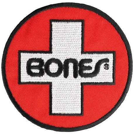 BONES SWISS CIRCLE PATCH - Skateboards Amsterdam