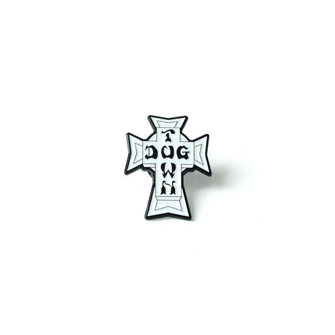 DOGTOWN CROSS LOGO VINTAGE ENAMEL PIN