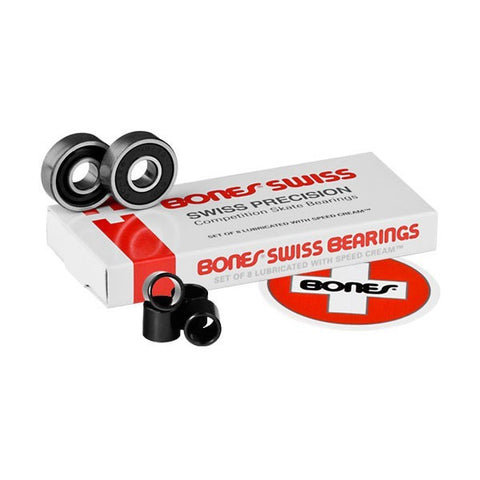 BONES SWISS BEARINGS - Skateboards Amsterdam
