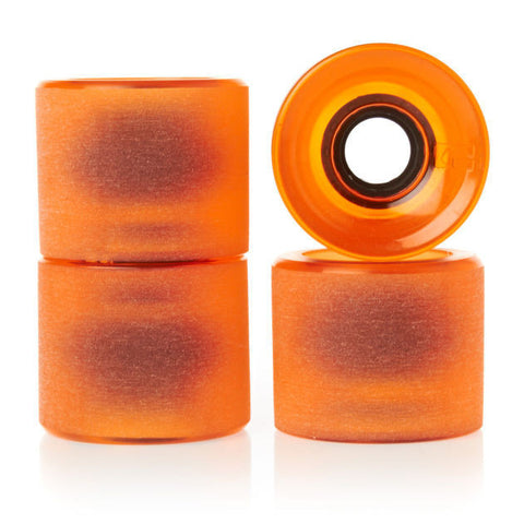 GLOBE BANTAM 62MM CLEAR AMBER - Skateboards Amsterdam