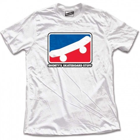 SHORTY'S SKATE ICON T-SHIRT WHITE
