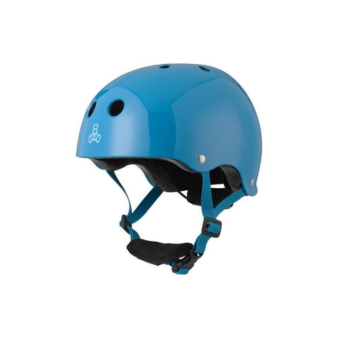 TRIPLE EIGHT LIL 8 DUAL CERTIFIED HELMET W/EPS LINER BLUE