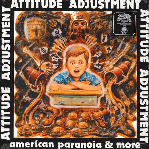 Attitude Adjustment-American Paranoia & More LP+DVD