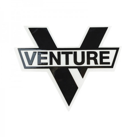 VENTURE BAR DIE CUT STICKER BLACK M