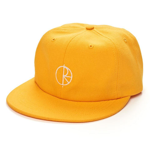 POLAR CANVAS CAP YELLOW