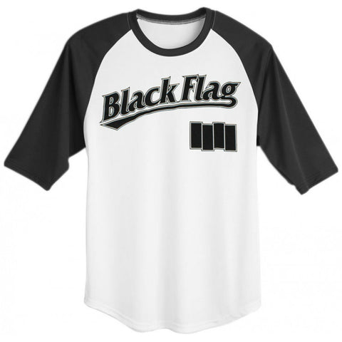 BLACK FLAG TODDLER BASEBALL JERSEY - Skateboards Amsterdam