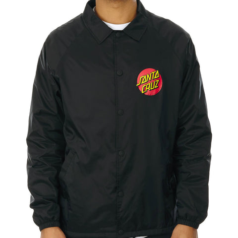 SANTA CRUZ CLASSIC DOT JACKET BLACK