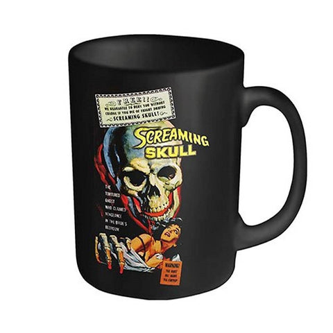 PLAN 9 SCREAMING SKULL BOXED MUG