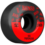 BONES 100'S #13 WIDE BLACK 52MM