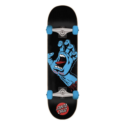 SANTA CRUZ SCREAMING HAND COMPLETE BLACK/BLUE 8.0